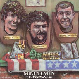SST Minutemen – 3-Way Tie (For Last) LP