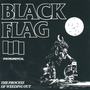 """Black Flag – The Process of Weeding Out EP 12"""" vinyl"""