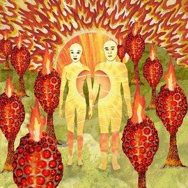 of Montreal – The Sunlandic Twins LP red/orange swirl vinyl