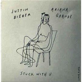 "Ariana Grande, Justin Bieber – Stuck With U 7"" vinyl"
