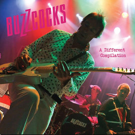 Buzzcocks – A Different Compilation LP pink vinyl
