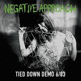 Negative Approach - Tied Down Demo LP green vinyl