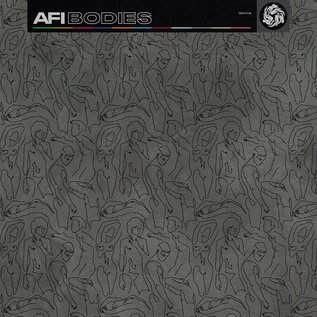 AFI – Bodies LP black, black ice, silver tri-color vinyl