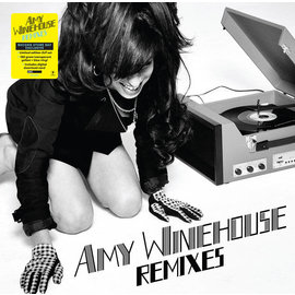 Amy Winehouse – Remixes LP yellow & blue vinyl