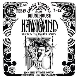 Hawkwind – Greasy Truckers Party LP