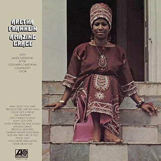 Aretha Franklin with James Cleveland & the Southern California Community Choir – Amazing Grace LP