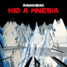 Radiohead - KID A MNESIA LP red vinyl box set
