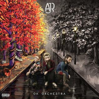 AJR – OK ORCHESTRA LP orange vinyl