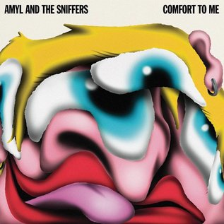 Amyl and the Sniffers – Comfort To Me LP red vinyl