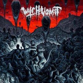 """Witch Vomit – Abhorrent Rapture EP 12"""" silver in blood red vinyl"""