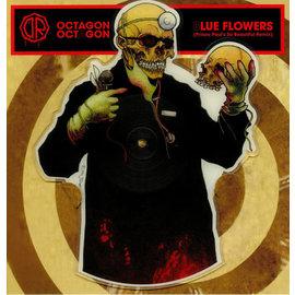 "Dr. Octagon – Octagon Octagon / Blue Flowers 12"" vinyl single"