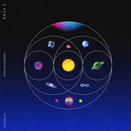 Coldplay - Music of the Spheres LP recycled color vinyl