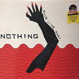 "Nothing –  Blue Line Baby EP 12"" white vinyl single"