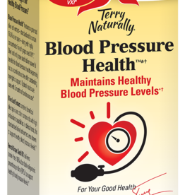 TERRY NATURALLY BLOOD PRESSURE HEALTH 60 CP OLIVE LEAF/HIBISCUS