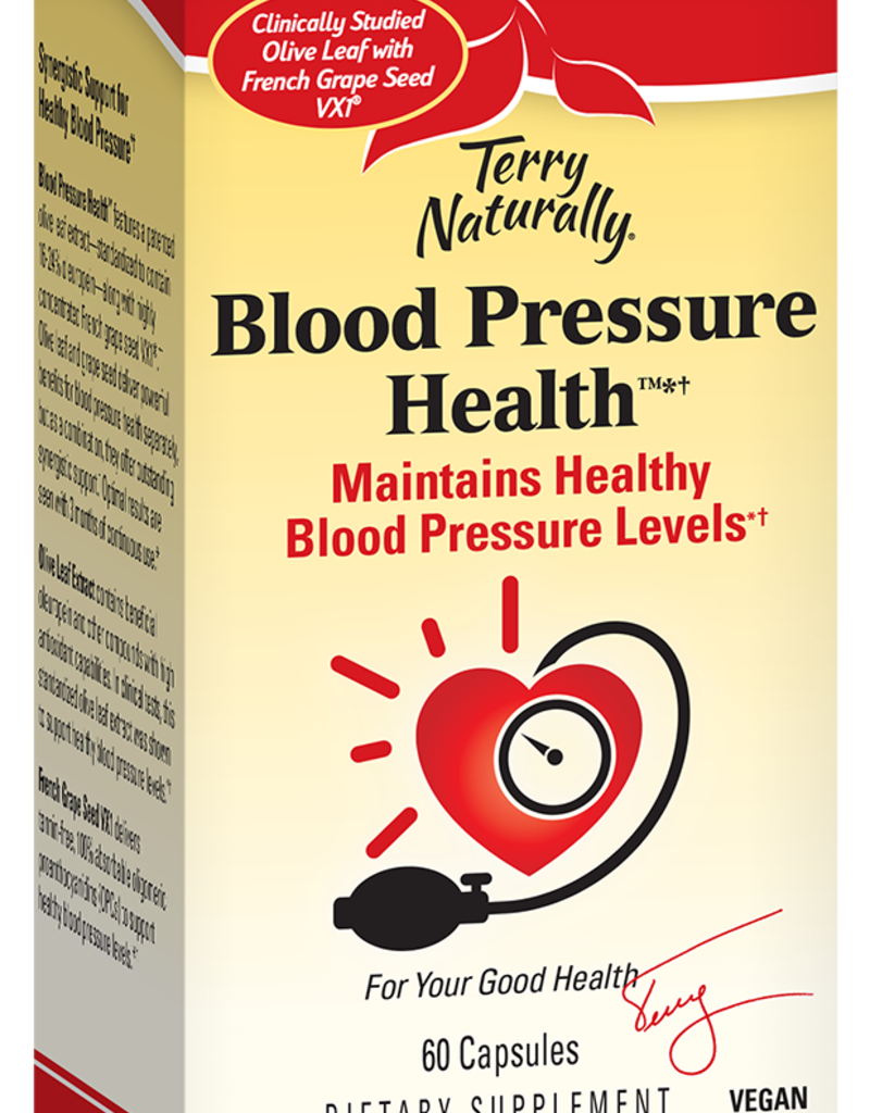 TERRY NATURALLY BLOOD PRESSURE HEALTH 60 CP -S