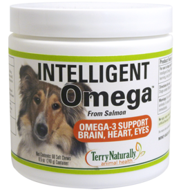 TERRY NATURALLY INTELLIGENT OMEGA-OMEGA 3 SUPPORT FOR BRAIN, HEART, EYES 60 CH - S
