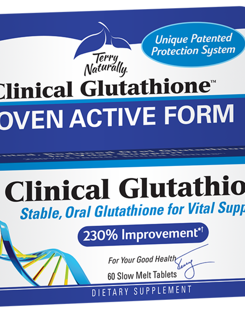 TERRY NATURALLY CLINICAL GLUTATHIONE SLOW-MELT 60 TB -S