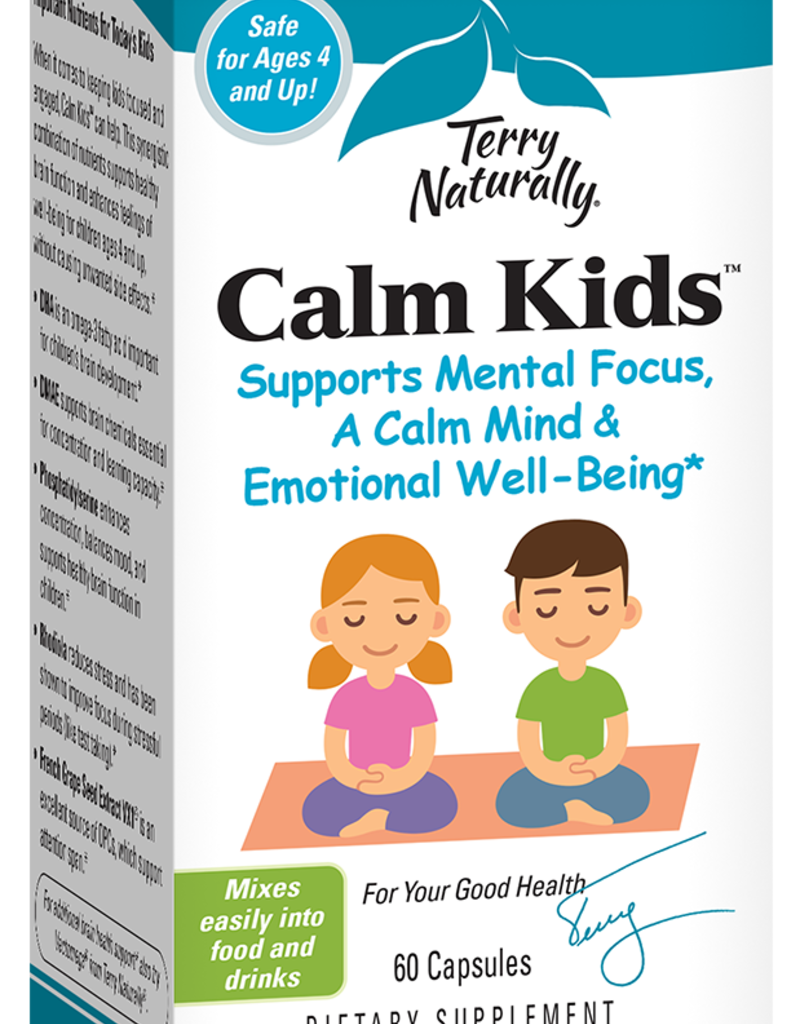 TERRY NATURALLY CALM KIDS 60 CAPS (PUT WITH ATTEND)