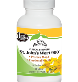 TERRY NATURALLY ST. JOHNS WORT 900 60 TAB