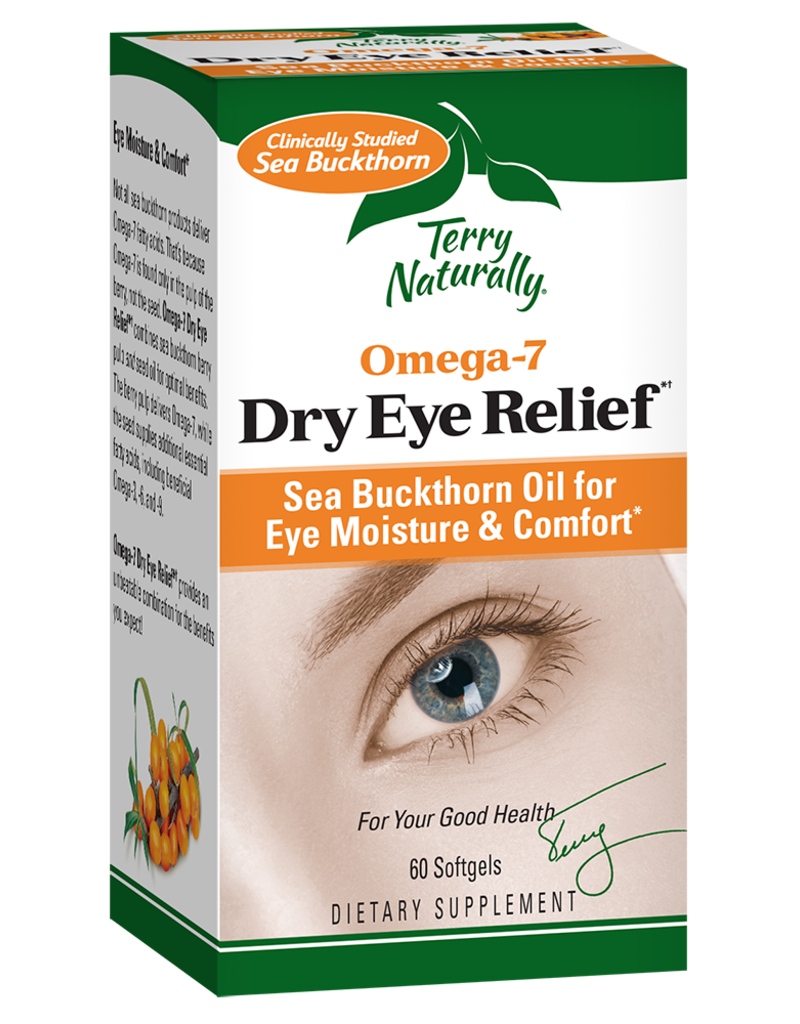 TERRY NATURALLY DRY EYE RELIEF OMEGA-7 60 SG -S