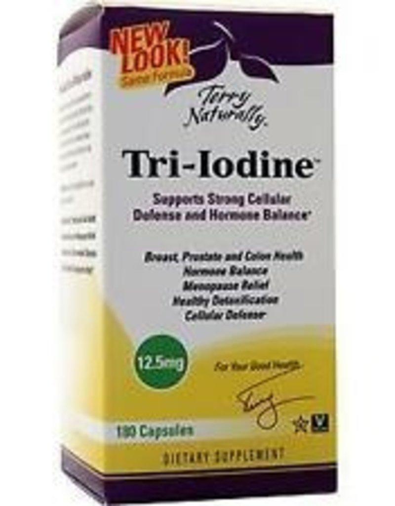 TERRY NATURALLY TRI-IODINE 12.5MG 180 CP