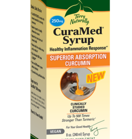 TERRY NATURALLY CURAMED SYRUP 250 MG 8 OZ -S