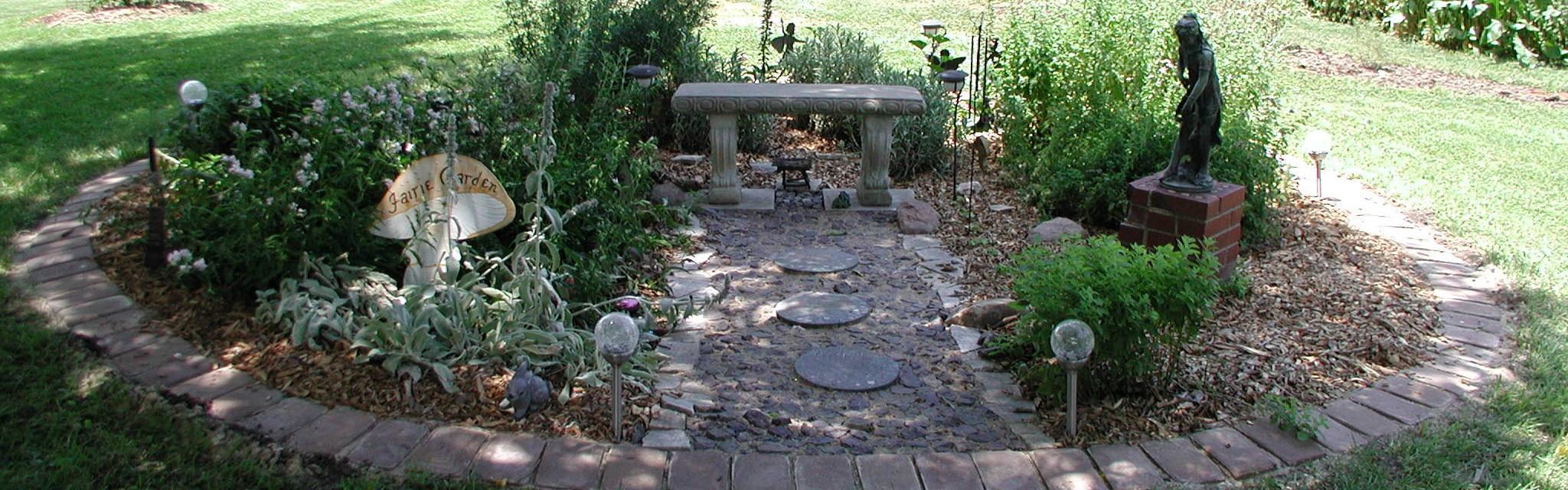 Faerie Garden @ Mari-Mann Herb Farm