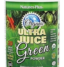 NATURES PLUS ULTRA JUICE GREEN DRINK (60 servings) 1.32 LB Certified Organic (m1)