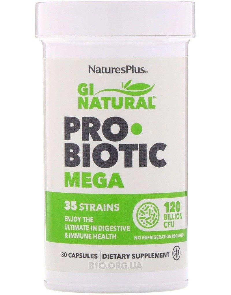 NATURES PLUS GI NATURAL PROBIOTIC MEGA 120 BIL 30CP (m1)