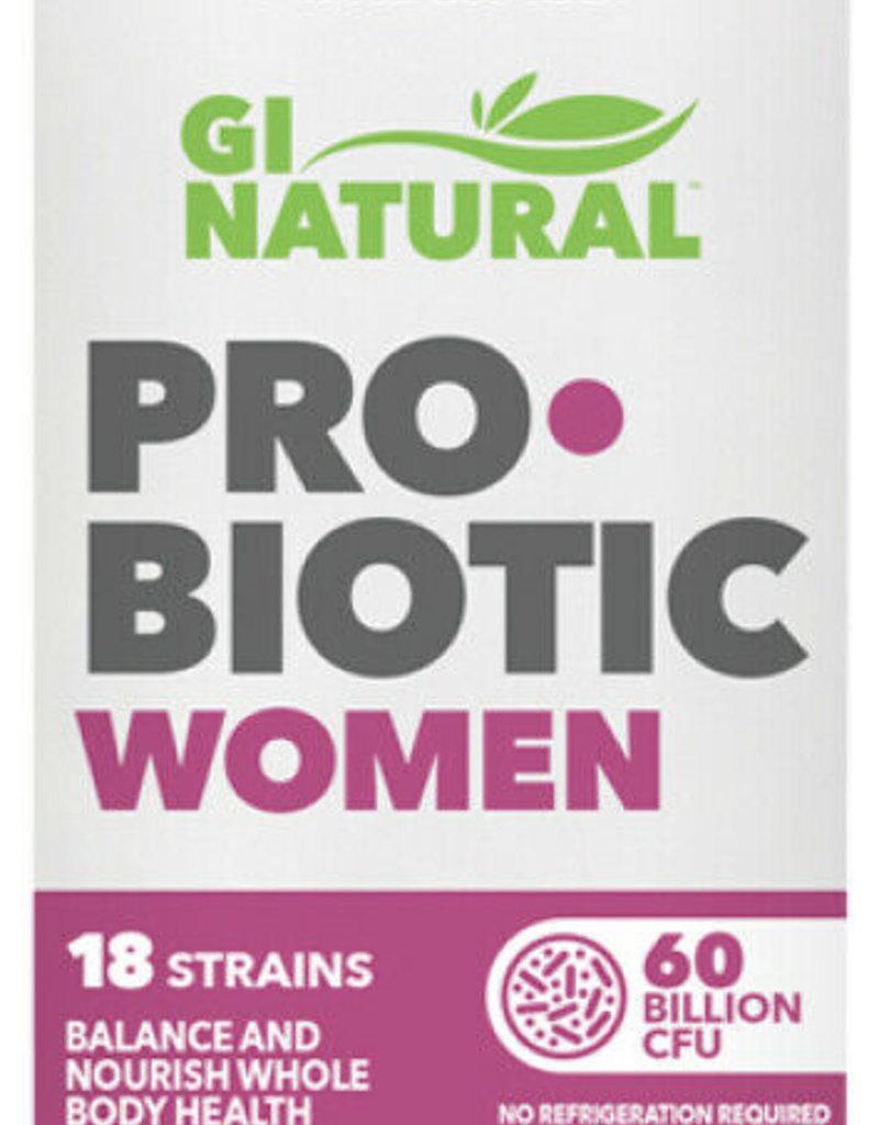 NATURES PLUS GI NATURAL PROBIOTIC WOMAN 60 BIL 30 CP (m1)