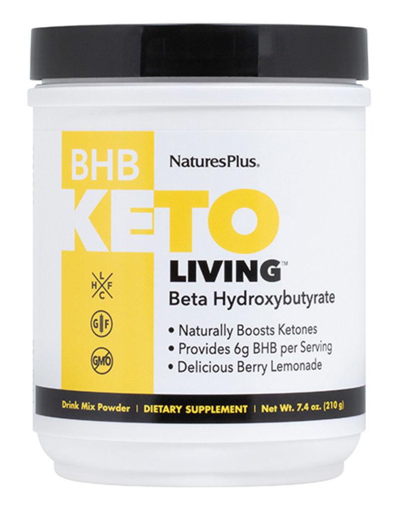 NATURES PLUS KETO BHB DRINK 7.4OZ POWDER BERRY LEMONADE (m1)