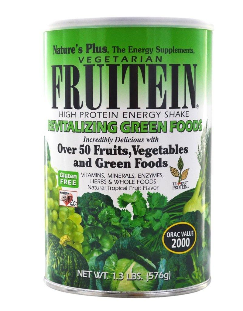 NATURES PLUS FRUITEIN SHAKE GREEN 1.3 LB (m1)