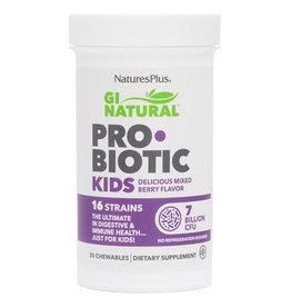 NATURES PLUS GI NATURAL PROBIOTIC KIDS 7 BIL 30 CW CP (m3)
