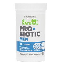 NATURES PLUS GI NATURAL PROBIOTIC MEN 60 BIL 30CP (m1)