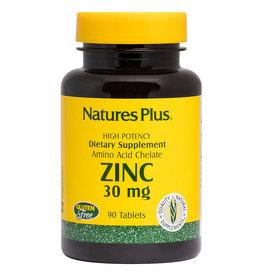 NATURES PLUS ZINC 30 MG 90 TB (m3)