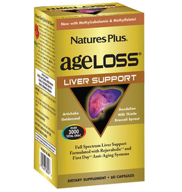 NATURES PLUS AGELOSS LIVER SUPPORT VCAP 90 (m1)
