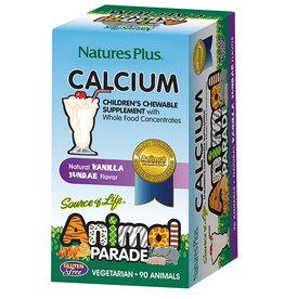 NATURES PLUS ANIMAL PARADE CALCIUM 90CT (m3)