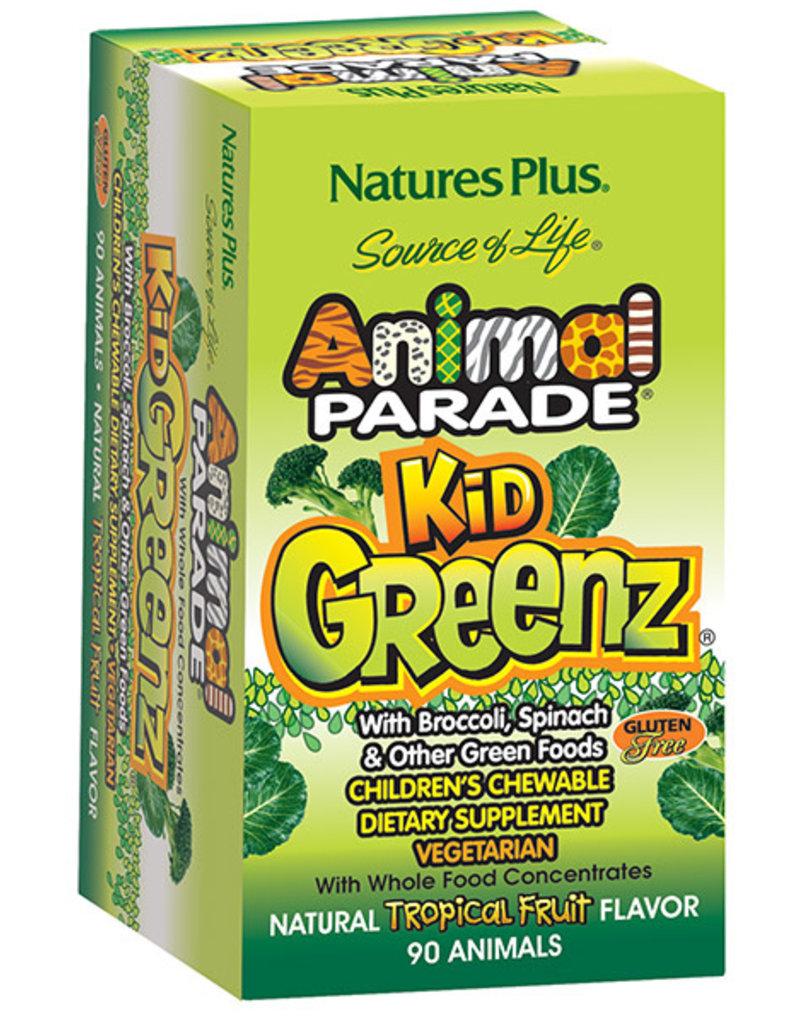 NATURES PLUS ANIMAL PARADE KidGreenz 90 CHW (m3)