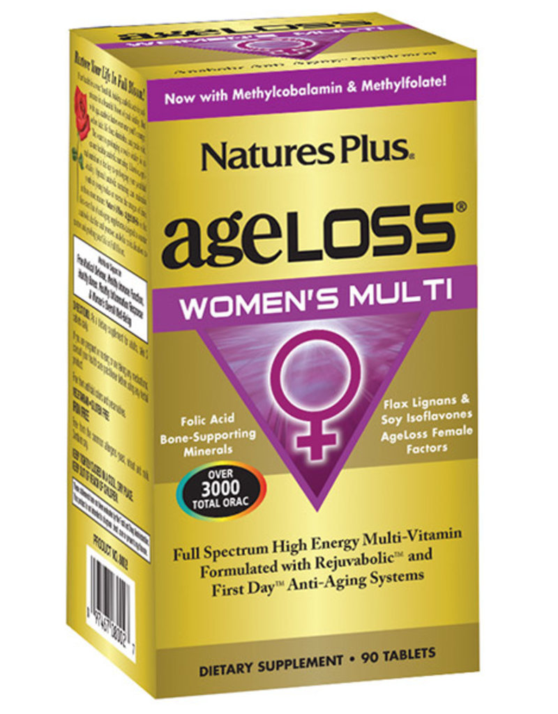 NATURES PLUS AGELOSS WOMANS MULTI 90 TB (m1)