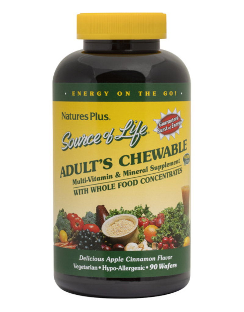 NATURES PLUS SOURCE OF LIFE ADULT CHWBL (m1)