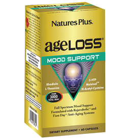 NATURES PLUS AGELOSS MOOD SUPPORT 60 VC DNR