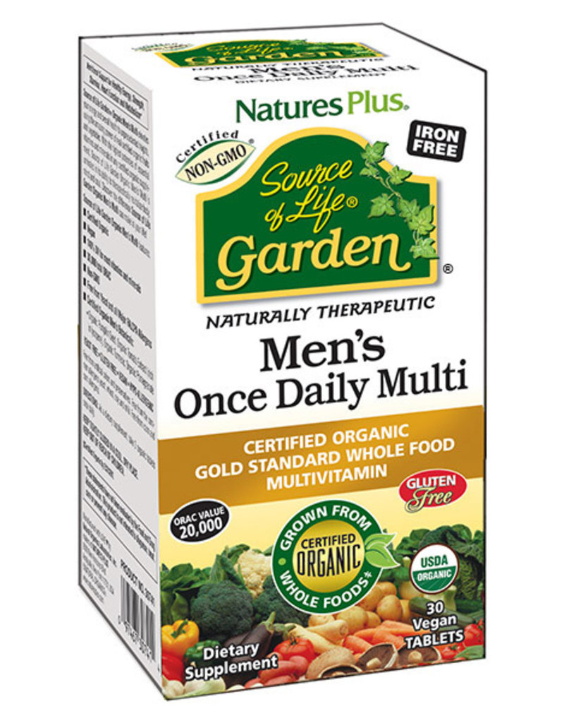 NATURES PLUS GARDEN MENS ONE DAILY TB