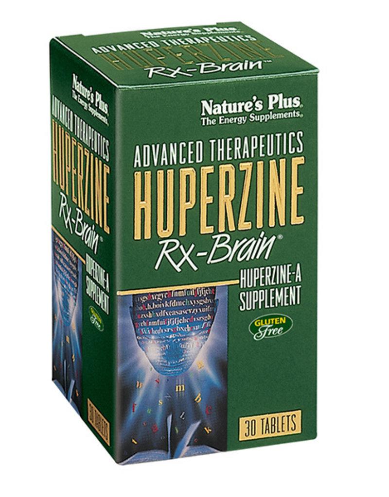 NATURES PLUS HUPERZINE RX-BRAIN 30 TB (m3) [s379/r610] (di)