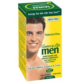 NATURES PLUS SOURCE OF LIFE MEN MULTIVITAMIN 60CP (m1)