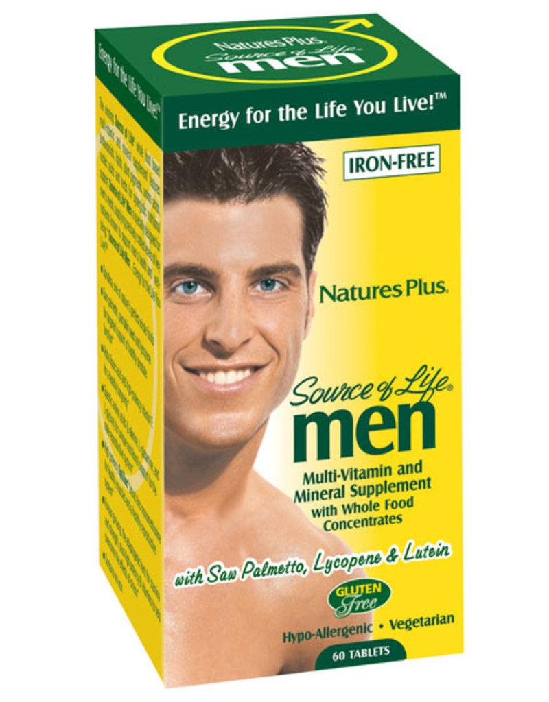 NATURES PLUS SOURCE OF LIFE MEN MULTIVITAMIN 60CP (m1) [s443/r335] (di)