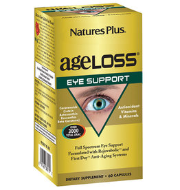 NATURES PLUS AGELOSS EYE SUPPORT 60 VC (m1) -S