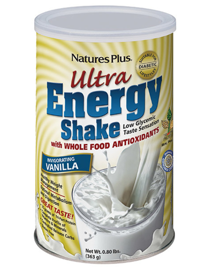 NATURES PLUS ULTRA ENERGY SHAKE VANILLA 0.80 LBS (m1)
