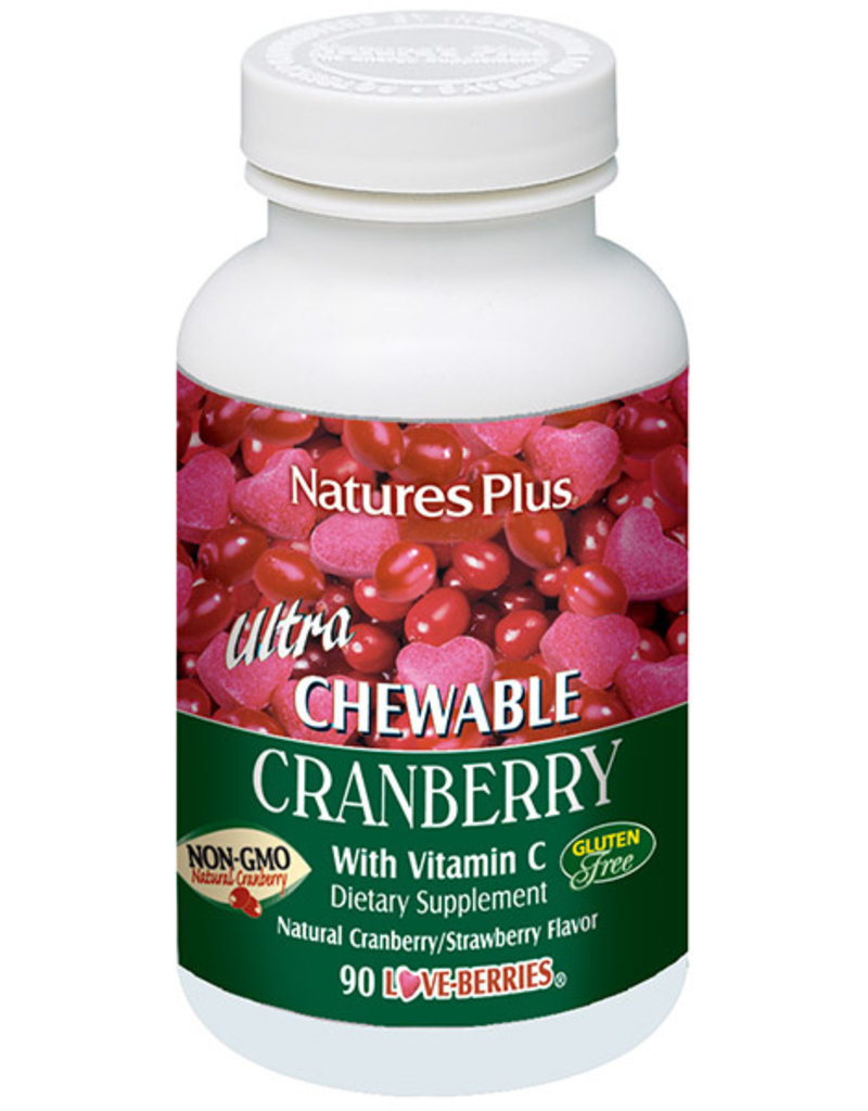 NATURES PLUS ULTRA CRANBERRY 90 CHW (m3)