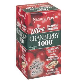 NATURES PLUS ULTRA CRANBERRY 1000 60 TB (m1)