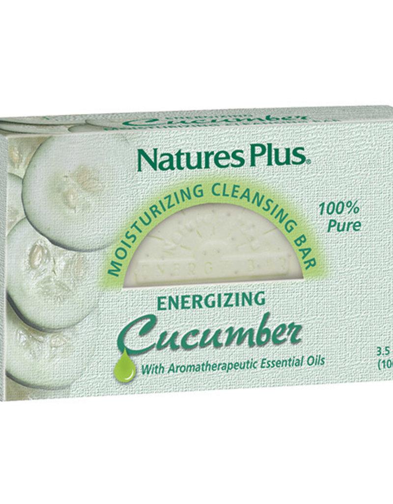 NATURES PLUS CUCUMBER MOISTURIZING CLEANSING BAR 3.5 OZ (m3)